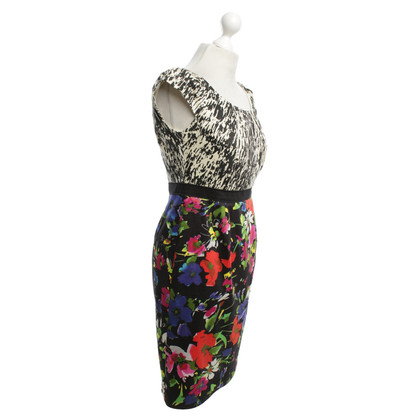Steffen Schraut Dress with flower pattern, Colorful