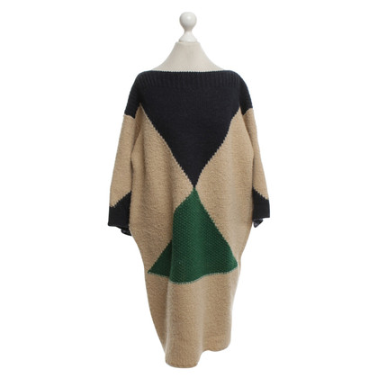 Stella McCartney Multi-colored wool dress