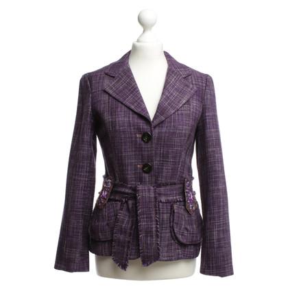 Dorothee Schumacher Blazer in violet
