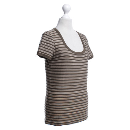 Armani Collezioni top with stripes
