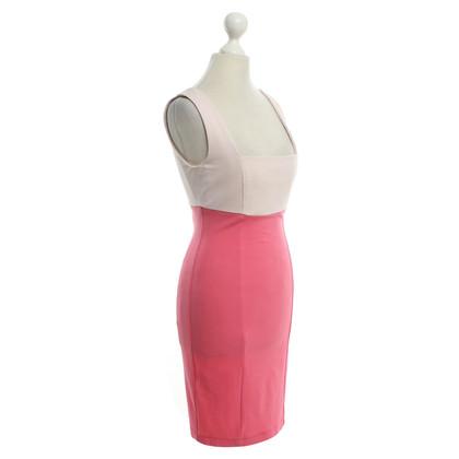 Pinko Kleid in Rosa/Beige