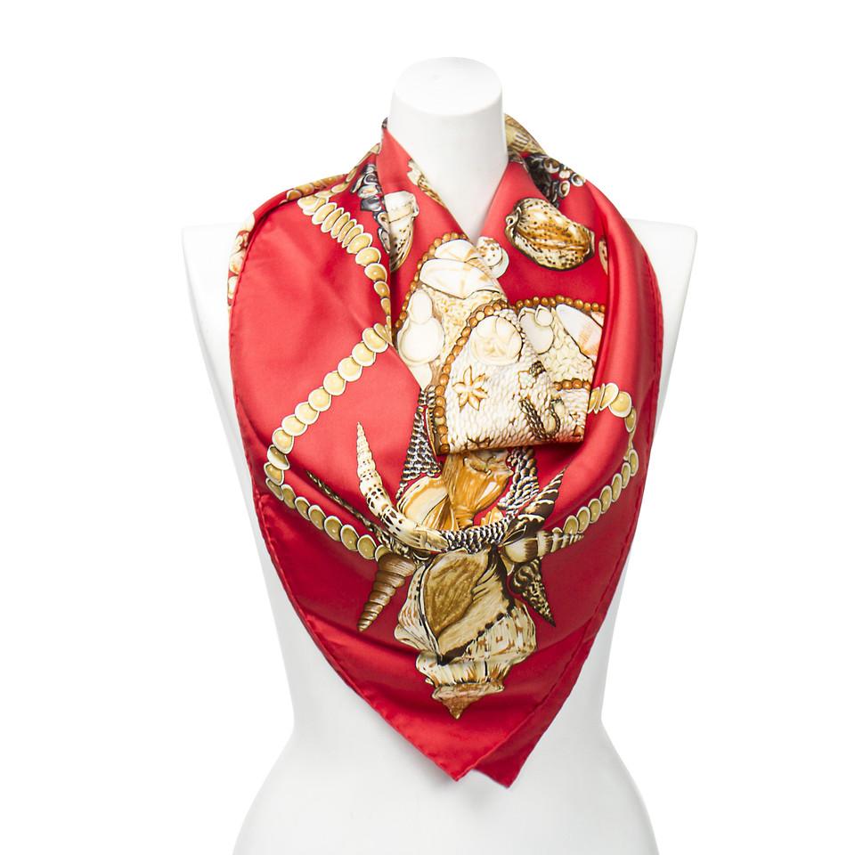 "Hermès Seidentuch ""Rocaille"""