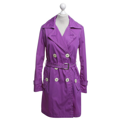 Fay Trench coat in purple