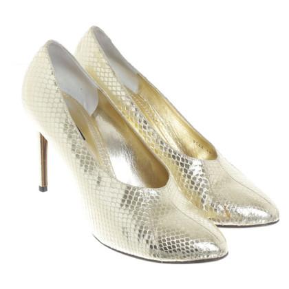 Dolce & Gabbana Gold colored pumps