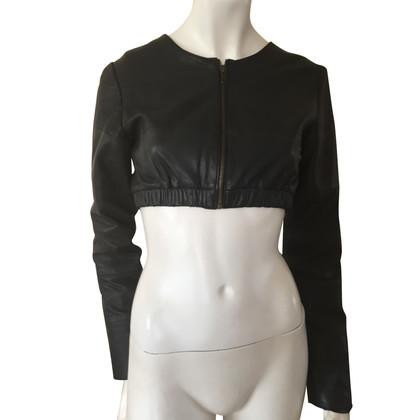 Other Designer Just Female - leather jacket