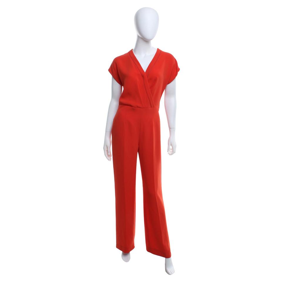 max mara jumpsuit in rot second hand max mara jumpsuit in rot gebraucht kaufen f r 240 00. Black Bedroom Furniture Sets. Home Design Ideas