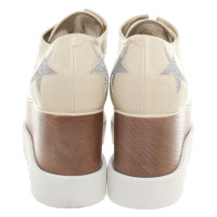 Stella McCartney Lace-up shoes in cream white