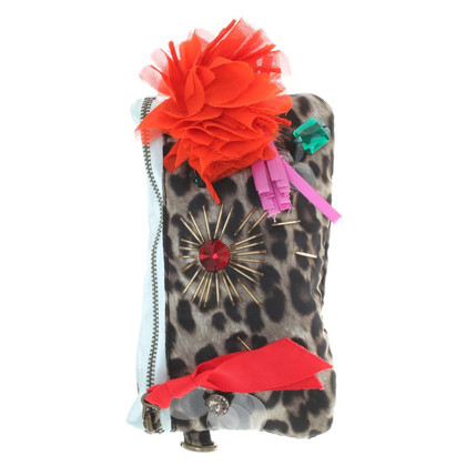 Lanvin for H&M clutch con stampa animalier