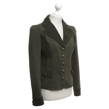 D&G una giacca di oliva