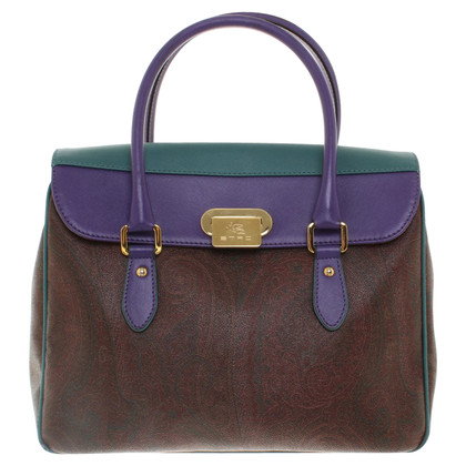 Etro Handbag with paisley pattern