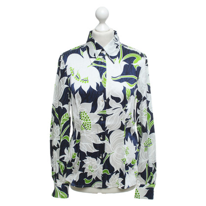 Escada Blouse with a floral pattern