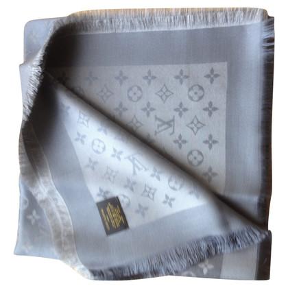 Louis Vuitton Monogram glansdoek in Gray