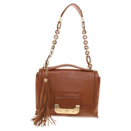 """Diane von Furstenberg Handbag """"Connect"""" in brown"""