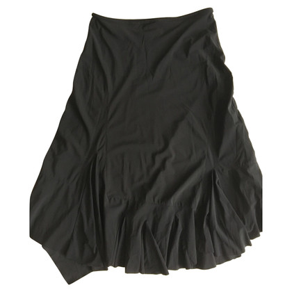 Marithé et Francois Girbaud Girbaud black travel fabric skirt size 36