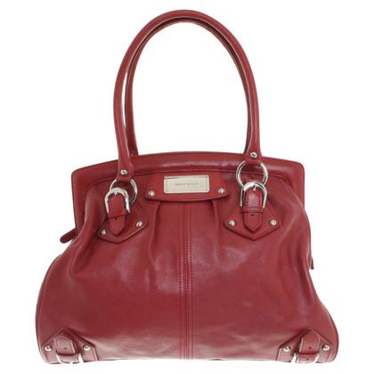 Karen Millen Red leather bag
