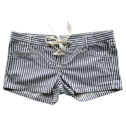 Ermanno Scervino Jeansshorts with stripes