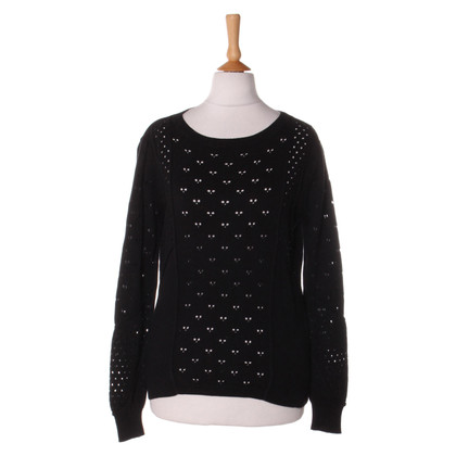 Claudie Pierlot Jumper with lace pattern