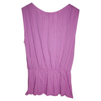 Ella Moss Top in Lilac