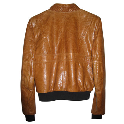 Balenciaga leather blouson