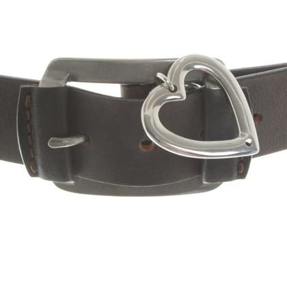 Sport Max Cintura in pelle a Brown