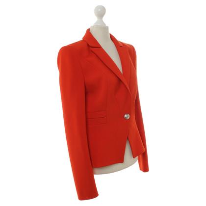 Mugler Blazer in rosso