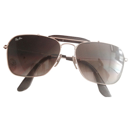Ray Ban Sunglasses with leather details