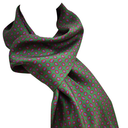 Hugo Boss silk scarf pattern