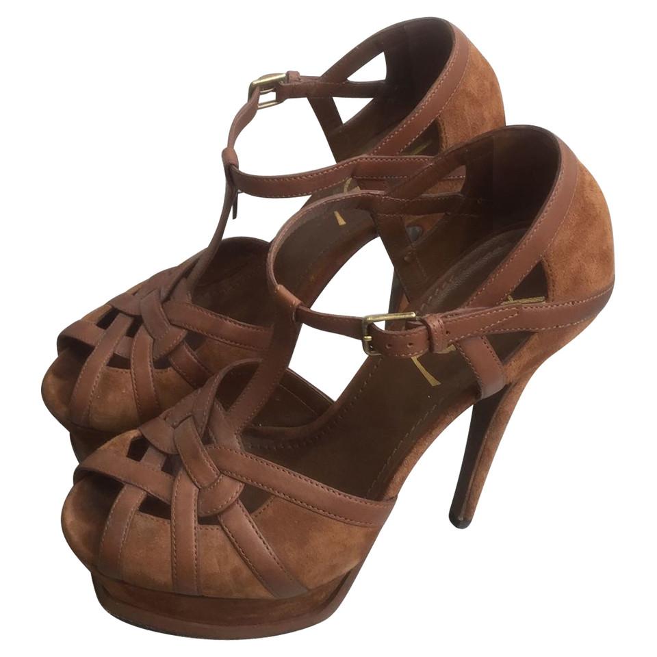 yves saint laurent sandales acheter yves saint laurent sandales second hand d 39 occasion pour. Black Bedroom Furniture Sets. Home Design Ideas