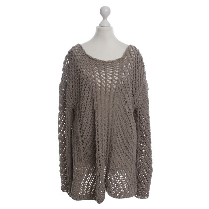 Iris von Arnim knitted pullover olive, size 42