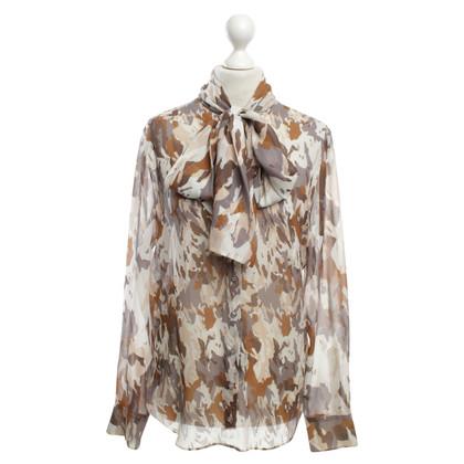 Strenesse Zijden blouse in Multicolor
