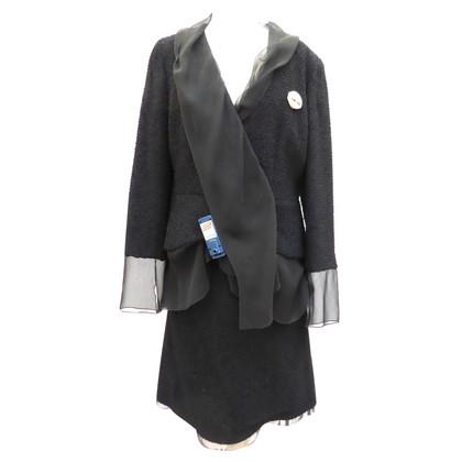 Chanel Bouclé pak met zijde