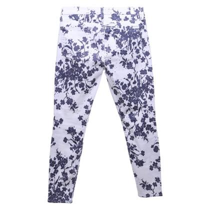 7 For All Mankind Jeans met een bloemenpatroon