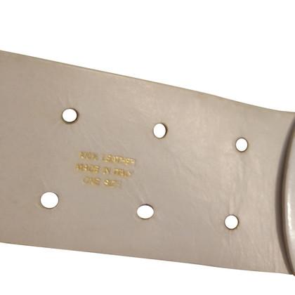 Marc Jacobs White belt