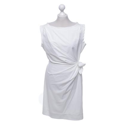 """Diane von Furstenberg Jurk """"Della"""" in het wit"""