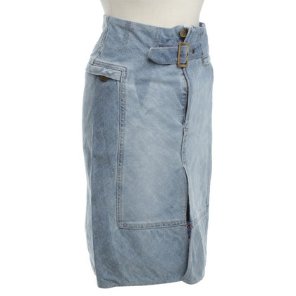Fendi Washing jeans skirt