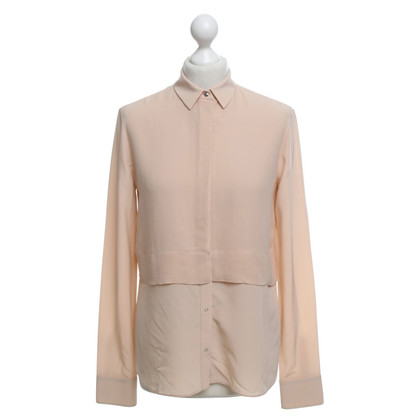 T by Alexander Wang Hemdbluse in nude