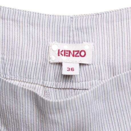 Grau mit Kenzo Streifenmuster Hose Kenzo Hose wqqtX70