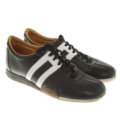 Bally Sneakers in black and white