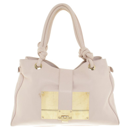 Blumarine Leather Handbag in Pink