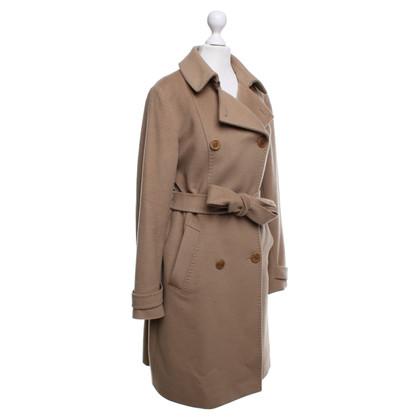 Max Mara Coat in oker