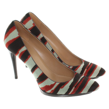 Balenciaga pumps in zebra-look
