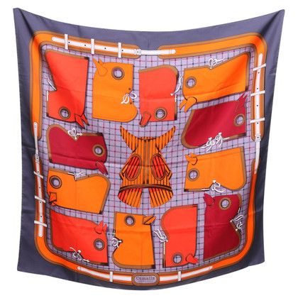 Hermès Tuch aus Seide