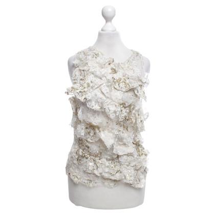 Other Designer Mariella Burani - lace top
