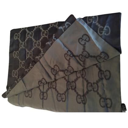Gucci Schal aus Seidenmischung