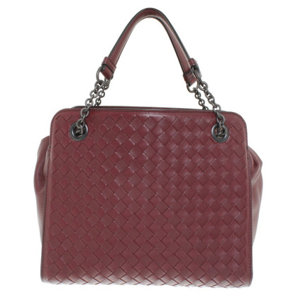 Bottega Veneta Handbag in Bordeaux