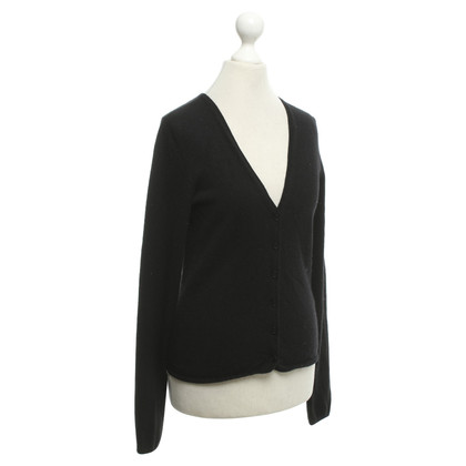 Allude Cashmere jacket in black