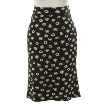 Diane von Furstenberg skirt with knitted look
