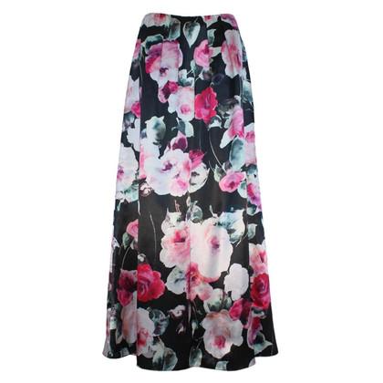 Blumarine Floral skirt