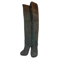 Elie Tahari Thigh high boots in Taupe