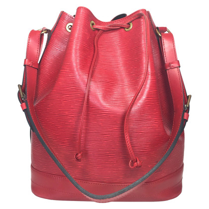 "Louis Vuitton ""Grand Noé Epi leather"" in red"